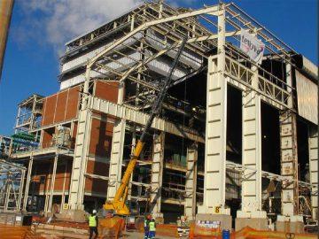 20MW Round Furnace Construction