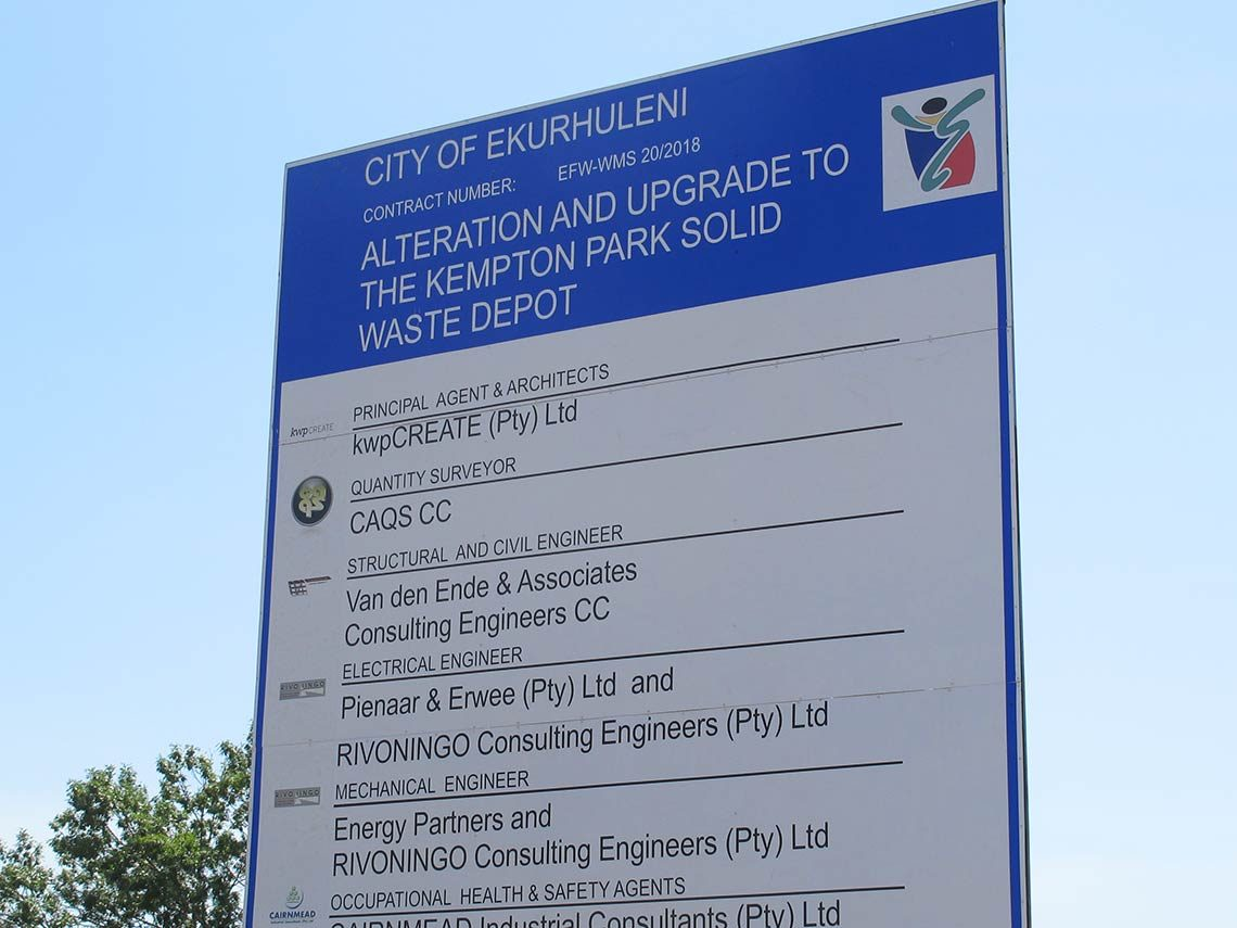 Solid Waste Depot | CAQS Quantity Surveying projects
