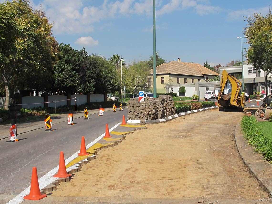 Renovations-entrance-roads-Centurion-Golf-Estate | CAQS Quantity Surveying projects